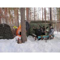 Отапливаемая палатка для охотников
