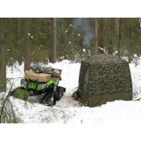 Отапливаемая палатка для увлекающихся квадроциклами и снегоходами