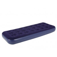Relax Flocked Air Bed Single