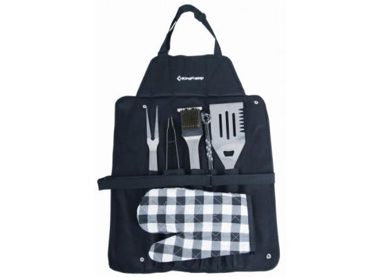 KingCamp BBQ Tool Set KG2727 набор столовых приборов для барбекю